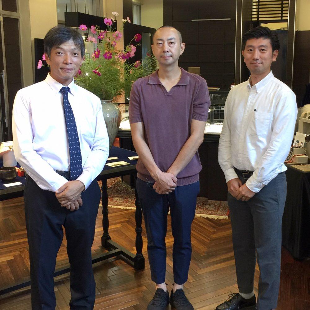 ご報告 茶、花のうつわ 細川護光作陶展